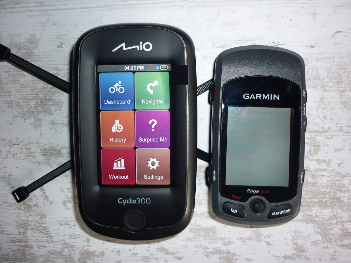 MIO Cyclo 300, Le Déballage, Le Test, Le Bilan du test