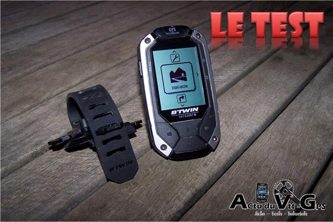 GPS Satcount By B'twin-Géonaute chez Décathlon