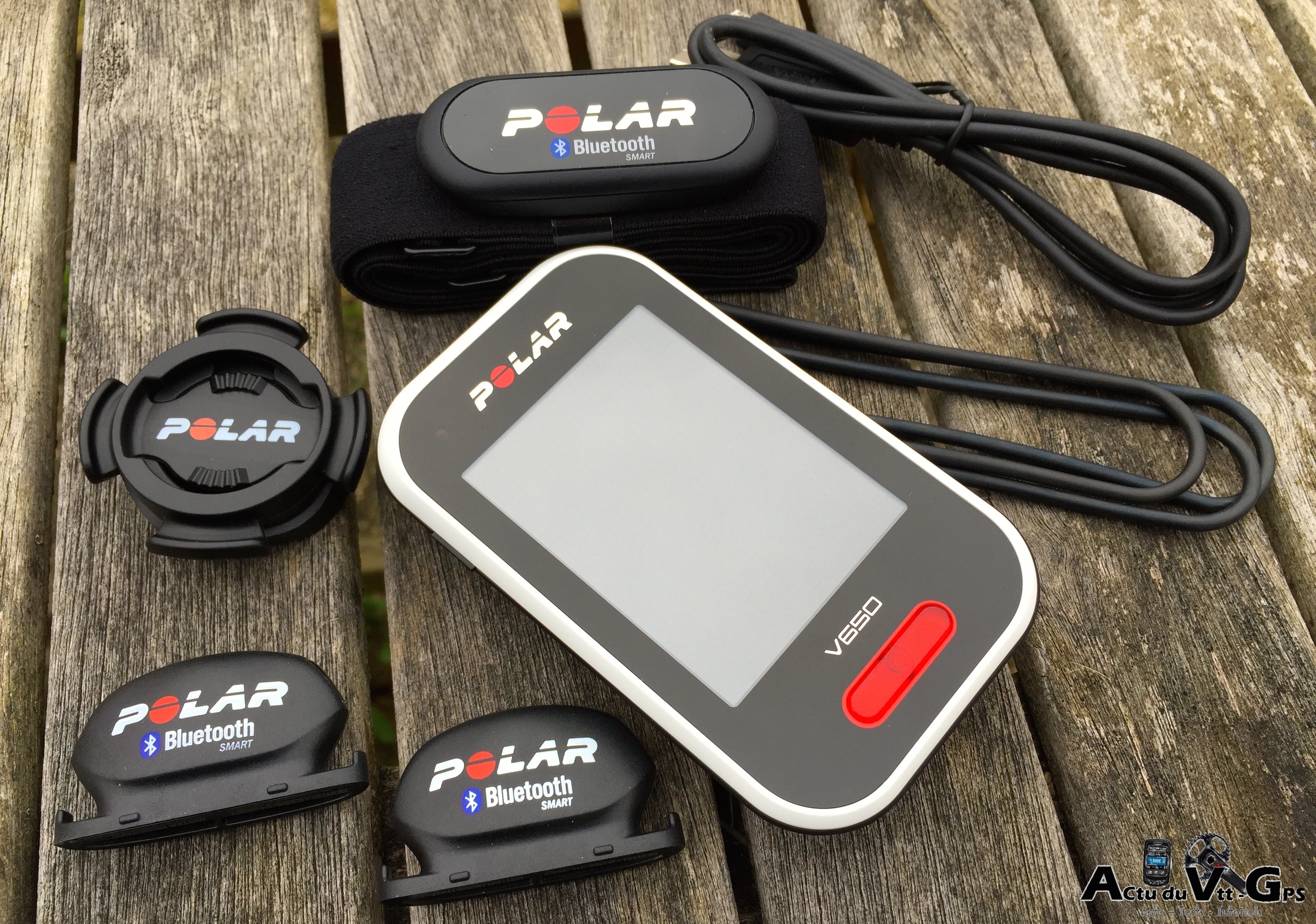 TEST DU GPS POLAR V650…